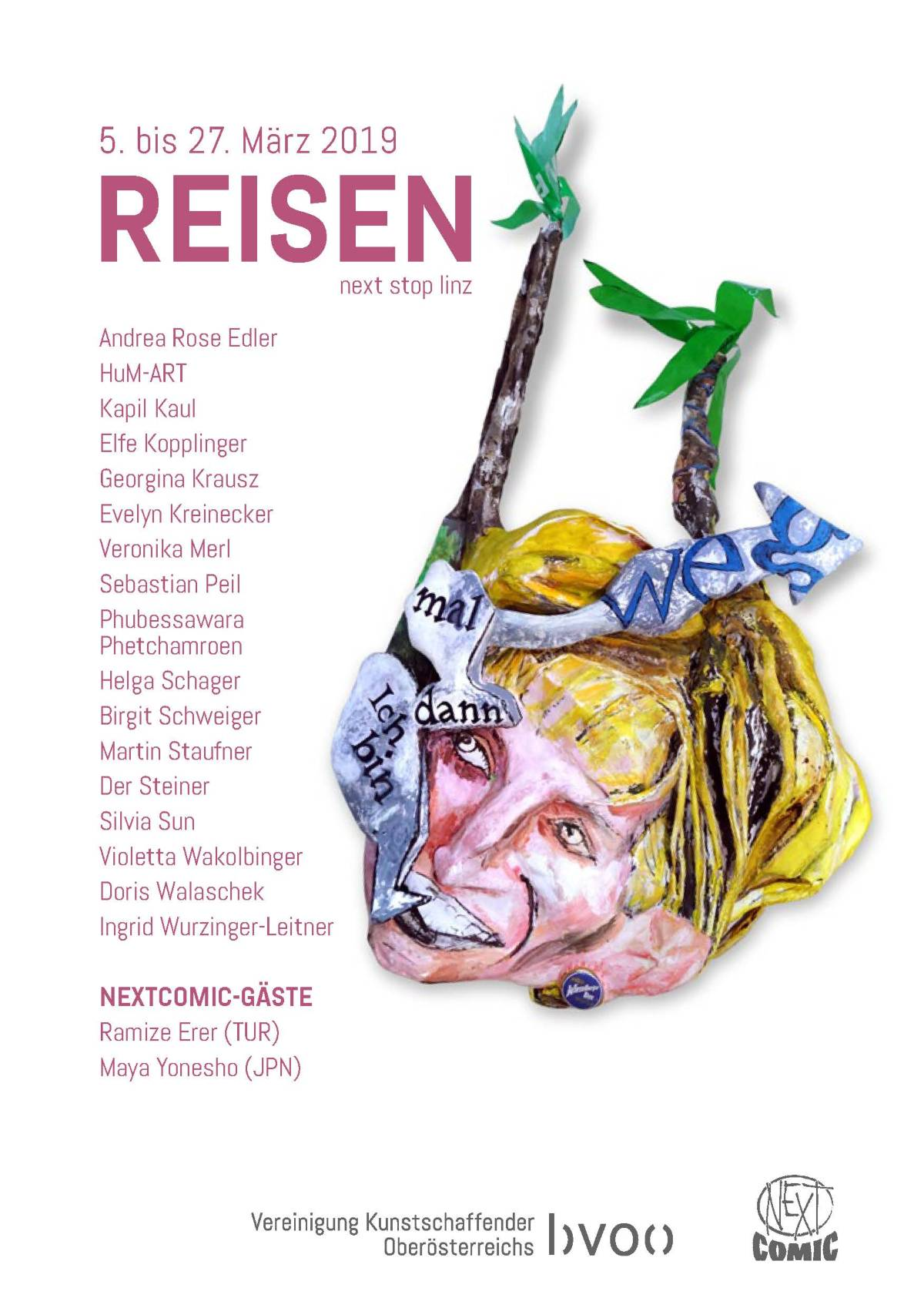 Einladung Next Comic Reisen