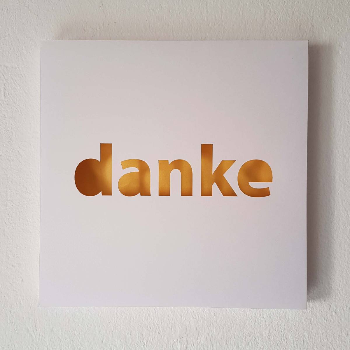 "Bildbox ""Danke"""